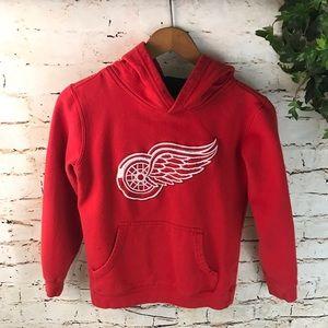 Reebok Detroit Red Wings Kids Hoodie